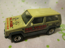 1986 Matchbox Jeep Cherokee Mr. Fixer Home Appliance Repair Truck Beige/Tan 1:58