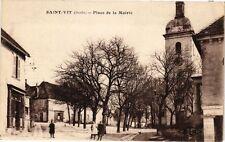 CPA  Saint-Vit (Doubs) - Place de la Mairie  (183646)