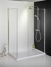 Walk In Shower Enclosure Tray 1200 x 800mm+ 800 Front Panel 800 End Panel