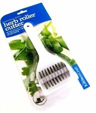 NEW Kitchen Craft Herb Roller Cutter With Stainless Steel Rotating  Blade
