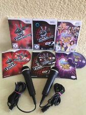 The Voice of Germany Vol. 2 (Nintendo Wii, jeu + 2 USB-Microphones) Livraison rapide!!!