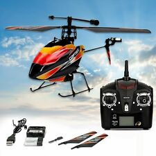 Upgraded WLtoys V911 4CH 2.4G RC Remote Control Single Blade Helicopter w/ GYRO