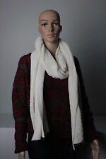 """NEW Women's Merona """"Sour Cream"""" 78"""" x 20"""" Knit Cold Weather Scarf Free Shipping"""