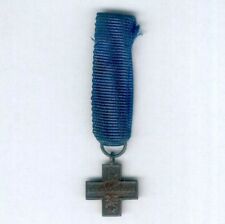 ITALY. Miniature Cross for War Merit, Republic issue since 1949