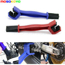 Motorcycle Chain Cleaning Brush Set Bike Gear Cleaner Tools Wash Scrubber Kit