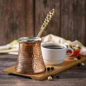 Extra Large Turkish Coffee Pot, Cezve, Greek Ibrik, Traditional Stove Top Pot