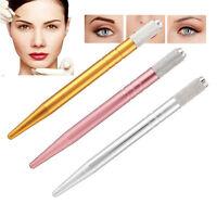 Permanent Microblading Tattoo Machine Tools Makeup Eyebrow Tattoo Manual Pen JT