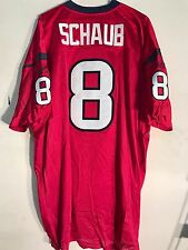 Reebok Authentic NFL Jersey Houston Texans Matt Schaub Red sz 48