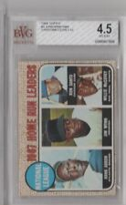 1968 Hank Aaron Santo Mcccovey Wynn Topps NL Home Run Leaders #5 BVG