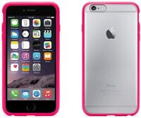 Griffin Reveal Slim Back Case Cover for Apple iPhone 6 Plus 6s Plus - Pink/Clear