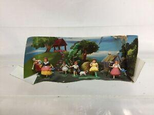 Rare Marx Toys Fairykins Disneykins Playset 6217 With Display