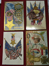 G.A.R. and Decoration Day Ornate Color Postcards, ca. 1910, Lot #14