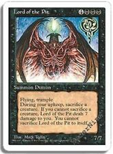 4 Lord of the Pit ~ Lightly Played 10th Edition 4x x4 Playset MTG Magic Black Ca