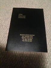Vtg 1994 Monthly Monitor Planner Baldwin Cooke Company Unused