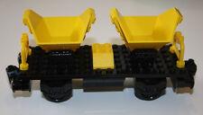 LEGO Eisenbahn 9V 12V RC - Güterwagen aus 7838 in gelb für alle Systeme LEGO®