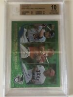 2013 Topps Mike Trout Cabrera Beltre Emerald PRISTINE BGS 10 .5 Away Black Label