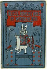 ALICE IN WONDERLAND Alice's LEWIS CARROLL Adventures ANTIQUE Child Fairy Tales