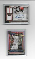 2020 Topps Museum RYAN HOWARD, BRYCE HARPER dual jersey auto purple SP LOT #/50!