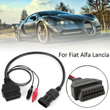 3 Pin to 16 Pin OBD2 Diagnostic Adapter Connector Cable for Fiat Lancia Alfa~~