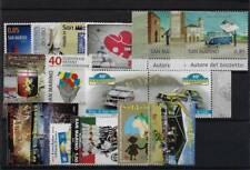 2013 San Marino Annata completa NO bf MNH
