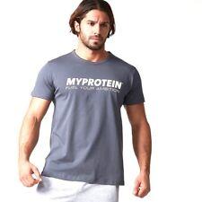 Myprotein T-shirt Uomo Grigio marca Gymheadz S M L XL Fitness 2xl