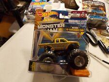 Look Hot Wheels Monster Jam Wrecking Crew Tour Favorite W/ Recrushable Car (B)