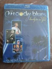 THE MOODY BLUES Lovely to See You (Live) BLU RAY BRAND NEW mexican edition