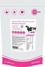 Nouvelle annonce PINK SUN Natural Whey 1kg (ou 420g) Poudre d'Isolat de Protéine de (1kg)
