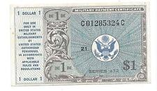 Series 472 1 Dollar 1st Printing ABOUT UNC