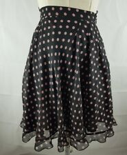 Bettina Liano Hectic Electric Circle Skirt Size 6 (Has Fault - see description)