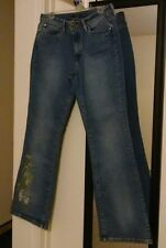 Women's A.N.A. A New Approach blue Jean Size 10 (31x32) bootcut pre-owned #0806