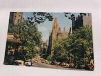 Collins Street, Melbourne - Vintage Postcard