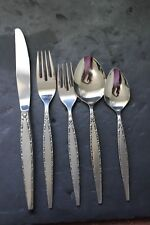 COMMUNITY STAINLESS 5 PIECE PLACE SETTING  VENETIA
