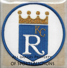 1985 Kansas City Royals Cooperstown Collection Patch Willabee & Ward Patch Only