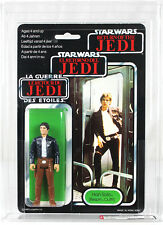 Vintage Star Wars Tri-Logo Han Solo (Bespin) Action Figure AFA 80 NM #11916889**