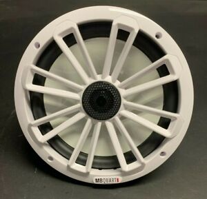 "MB Quart MM80BW 8"" 2-way Coaxial Nautical White Speaker"