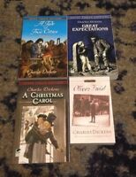Lot of 4 Charles Dickens books A Tale of Two Cities Great Expectations and more