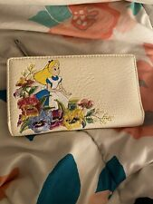 Loungefly Disney Alice In Wonderland Wallet Floral Embroidered