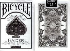 Carte da gioco Bicycle RAIDER white edition, poker size