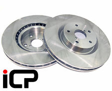 Front 295mm /'4 Pot/' Brake Discs /& Pads Fits Subaru Impreza Turbo 96-07