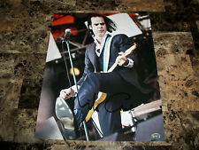 Nick Cave Rare Authentic Hand Signed Live Shot Photo Poster 11x14 Hologram COA