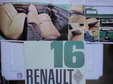 TRES JOLIE BROCHURE CONCESSIONAIRE RENAULT 16 PUBLICIS M 573