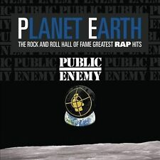 PUBLIC ENEMY - PLANET EARTH: THE ROCK & NEW VINYL RECORD
