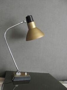 lamp kaiser Bauhaus table light Atomic Desk retro articulating mid century vtg