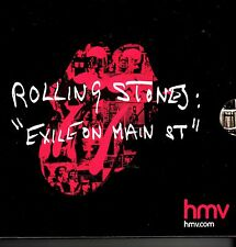 """ROLLING STONES """"Exile on Main St"""" Special Edition HMV"""
