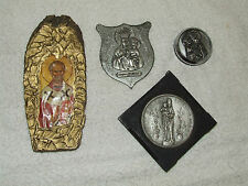 Antique Religious ICON Lot Orthodox Icons: Madonna & Baby Jesus, Santa Maria,Etc