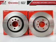 FOR LAND ROVER RANGE ROVER SPORT GENUINE BREMBO COATED BRAKE DISCS PAIR 360mm