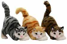 17cm Cute Playful Cat Ornament Realistic Looking Home Decor Gift For Cat Lovers