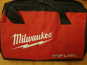 """Milwaukee M12 FUEL 13"""" x 10"""" x 9 Canvas Tool Bag For M12 M18 18 Volt - NEW"""