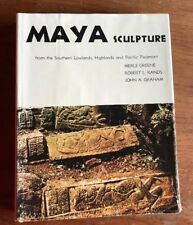 Maya Sculpture  from the Southern Lowlands et. by M. Greene, R Rands1972 HB Book